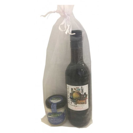 Wine mayoral with cheese cream natural for gift.