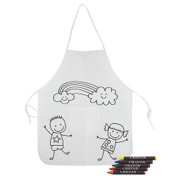 Children Apron for color detail birthday