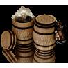 Regala barrica de cerámica con bombones