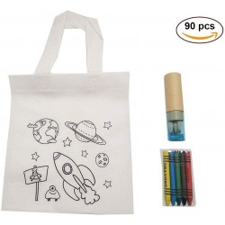 (AMAZON) 30 Bags Planets And Cases BLUE with pencils and pencil sharpeners