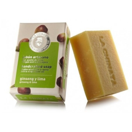 Handcrafted Soap: Energizing Ginseng and Lime