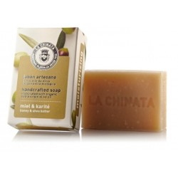 Handcrafted Soap: Moisturizing Honey Shea Butter