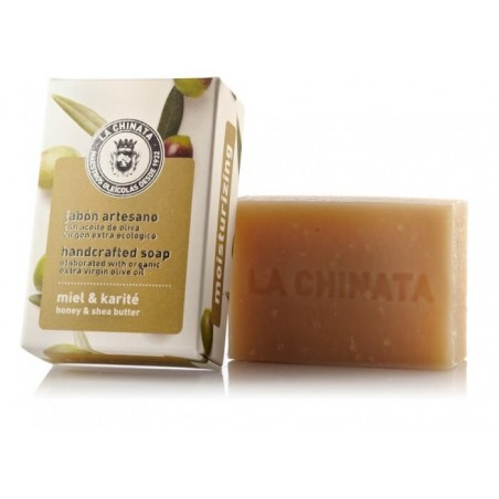 Jabón natural Hidratante Miel Karité