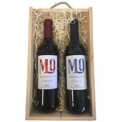 Estuche regalo con dos vinos rioja