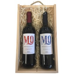 Gift box with two Rioja wines