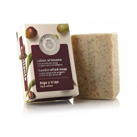 Handcrafted Soap: Exfoliant Fig Wheat