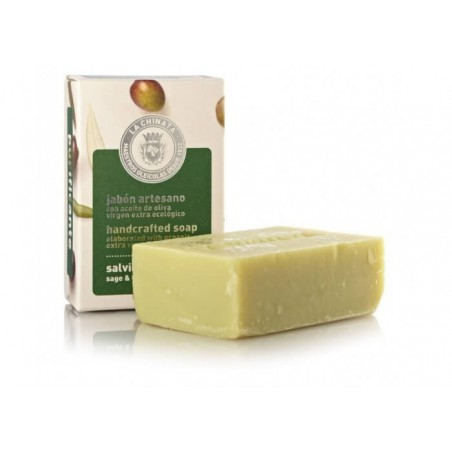 Handcrafted Soap: Purifying Sage Lemongrass