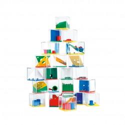 Lot de 24 jeux d'adresse pour les enfants dans une petite boîte