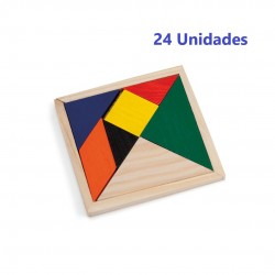 Pack 24 skill puzzles for children