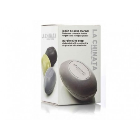 Natural Soap with olive oil and purple