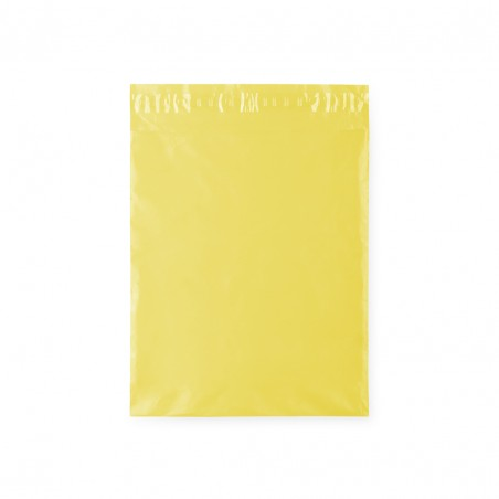 Yellow bag for gifts.