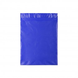 Blue bag to wrap children's gifts for boys and girls