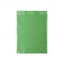 Green adhesive gift bag.