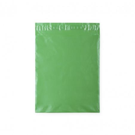 Green adhesive gift bag.