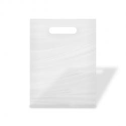 Bolsa blanca para guardar regalos