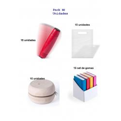 Estupendo pack para regalar en cumpleaños infantiles 15 juegos rondux + yoyos de madera + 15 set de gomas de borrar