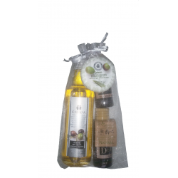 Kit of weddings cosmetic Gel,body milk,soap,olive oil