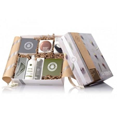 Caja regalo cosmética cuidado cuerpo