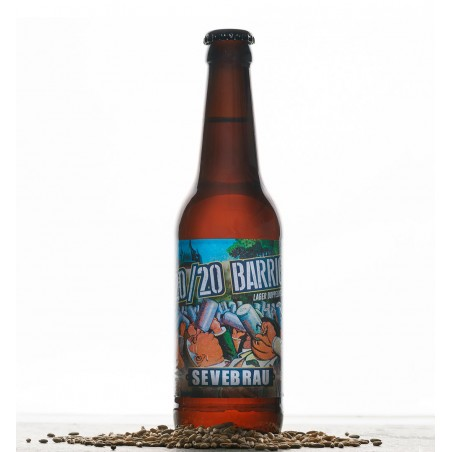 Craft Beer Sevebrau 20/20 Lager