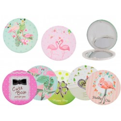 Pocket mirror to give away...