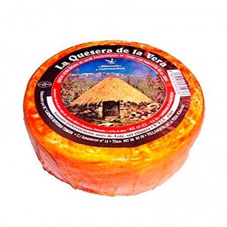 Queso de cabra puro semicurado la quesera de la Vera