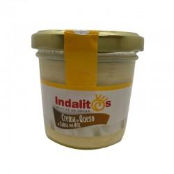 Crema de queso de cabra con miel