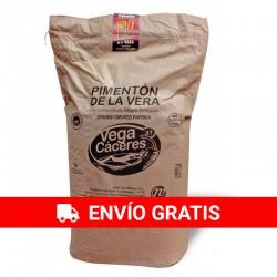 Pimentón de la Vera Ahumado dulce D.O.P Saco 25kg