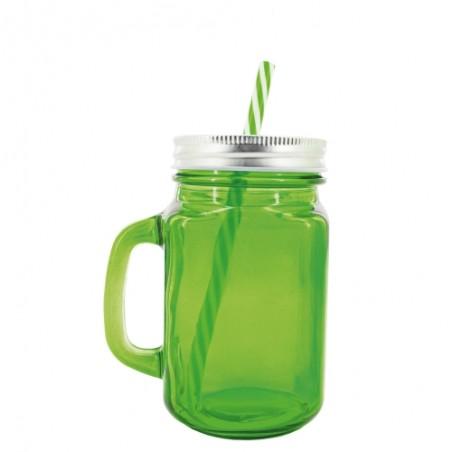 Jarra verde cristal 500 ml