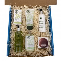 Facial and body care gift box
