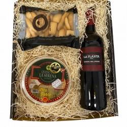 Caisse Picoteo 2 - Vin, gâteaux et cornichons