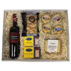 Pack Picoteo 5 - Vino La Planta, quesos, conservas y picos