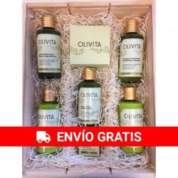 Large Ecological Cosmetic Wood Case Olivita La Chinata nº2