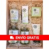Cosmetic wood basket large La Chinata nº1