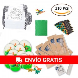 (Amazon) 30 animal backpacks + 30 dino eggs + 30 boxes with pencils, pencil sharpeners and drawings