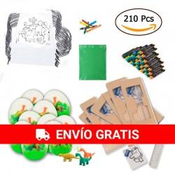 (Amazon) 30 sacs à dos pour animaux + 30 oeufs de dino + 30 boîtes de crayons, taille-crayons et dessins