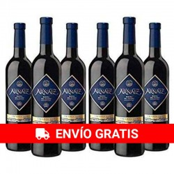 Viña Arnáiz Crianza Red Wine D.O Ribera del Duero - Pack of 6 Bottles x 750 ml