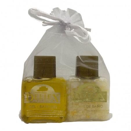 Shower gel and bath salt Deliex