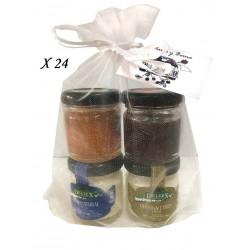 Detalles para regalar pack de quesos y mermeladas (24pack)