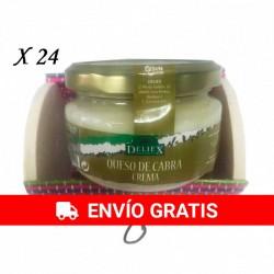 Queso de cabra para regalos en baúl de colores (24 ud).