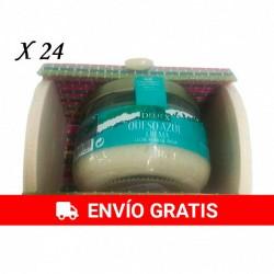 Crema de queso azul en baúl de colores para regalos ( 24 unidades)