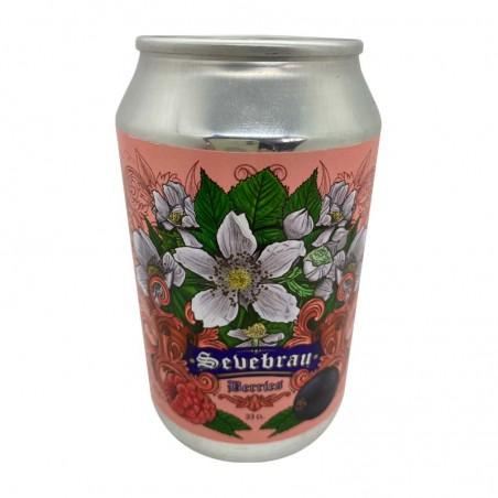 Cerveza Artesana Sevebrau con Bayas