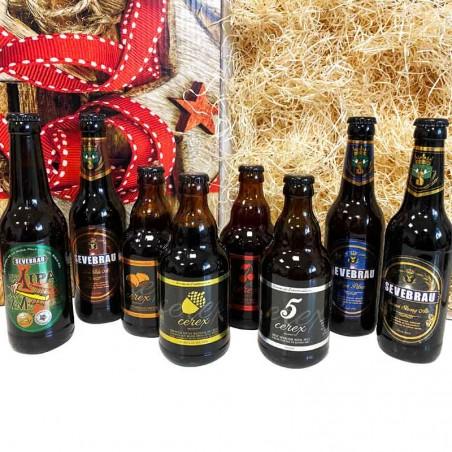 Lote premium de degustación de cervezas artesanas