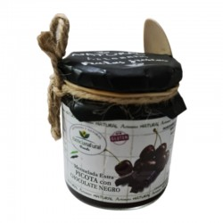 Confiture de pilori extra naturelle au chocolat noir