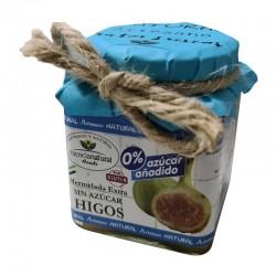 Confiture supplémentaire de figues sans sucre ajouté