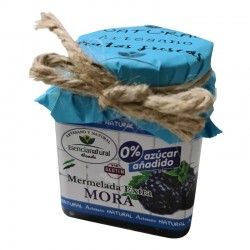 Mermelada Extra Mora 0 % Azúcar añadido.