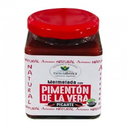 Jam with spicy vera paprika