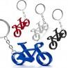 Lote 50 llaveros originales bicicleta