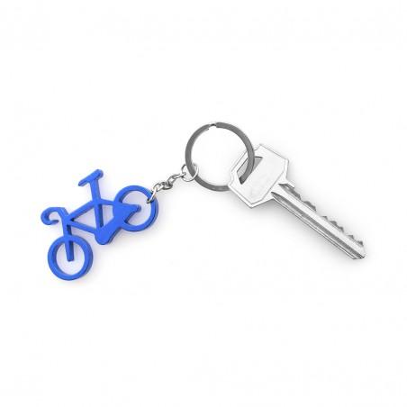 Llavero metálico Bicicleta colores variados
