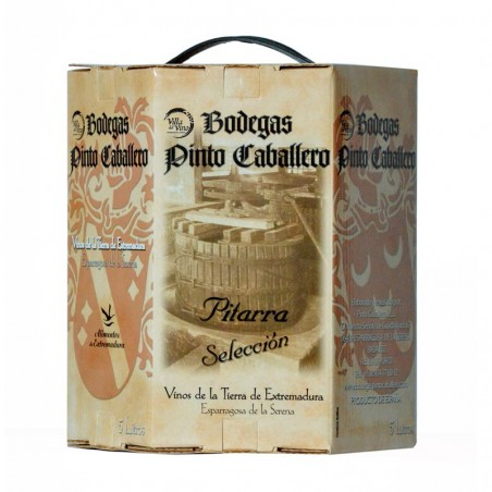 "Vino Pitarra Tinto ""Bag in Box"" 5 Litros"