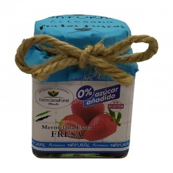 Natural Artisan Strawberry Jam Without Sugar